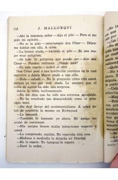 Muestra 6 de EL COYOTE 143. NUEVO COYOTE 13: AL NORTE DE RÍO BRAVO (José Mallorquí) Cliper 1951