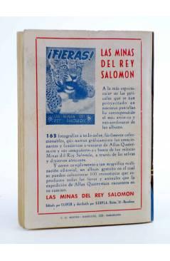 Contracubierta de EL COYOTE 145. NUEVO COYOTE 15: EL JUEZ USABA ANTIFAZ (José Mallorquí) Cliper 1951
