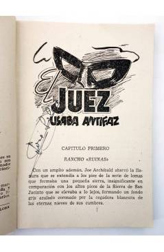 Muestra 1 de EL COYOTE 145. NUEVO COYOTE 15: EL JUEZ USABA ANTIFAZ (José Mallorquí) Cliper 1951