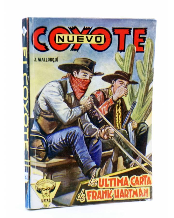Cubierta de EL COYOTE 148. NUEVO COYOTE 18: LA ÚLTIMA CARTA DE FRANK HARTMAN (José Mallorquí) Cliper 1951