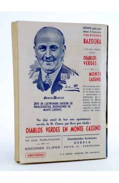 Contracubierta de EL COYOTE 148. NUEVO COYOTE 18: LA ÚLTIMA CARTA DE FRANK HARTMAN (José Mallorquí) Cliper 1951