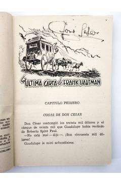 Muestra 1 de EL COYOTE 148. NUEVO COYOTE 18: LA ÚLTIMA CARTA DE FRANK HARTMAN (José Mallorquí) Cliper 1951