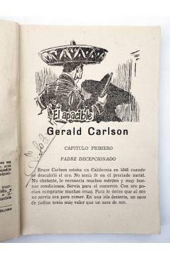 Muestra 1 de EL COYOTE 151. NUEVO COYOTE 21: EL APACIBLE GERENAL CARLSON (José Mallorquí) Cliper 1951
