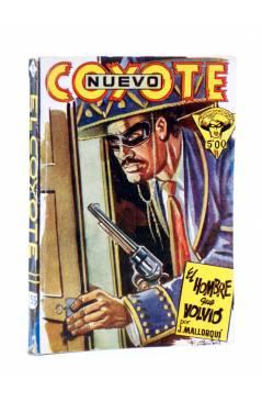 Cubierta de EL COYOTE 155. NUEVO COYOTE 25: EL HOMBRE QUE VOLVIÓ (José Mallorquí) Cliper 1951