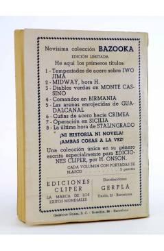 Contracubierta de EL COYOTE 155. NUEVO COYOTE 25: EL HOMBRE QUE VOLVIÓ (José Mallorquí) Cliper 1951