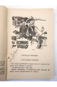 Muestra 1 de EL COYOTE 155. NUEVO COYOTE 25: EL HOMBRE QUE VOLVIÓ (José Mallorquí) Cliper 1951