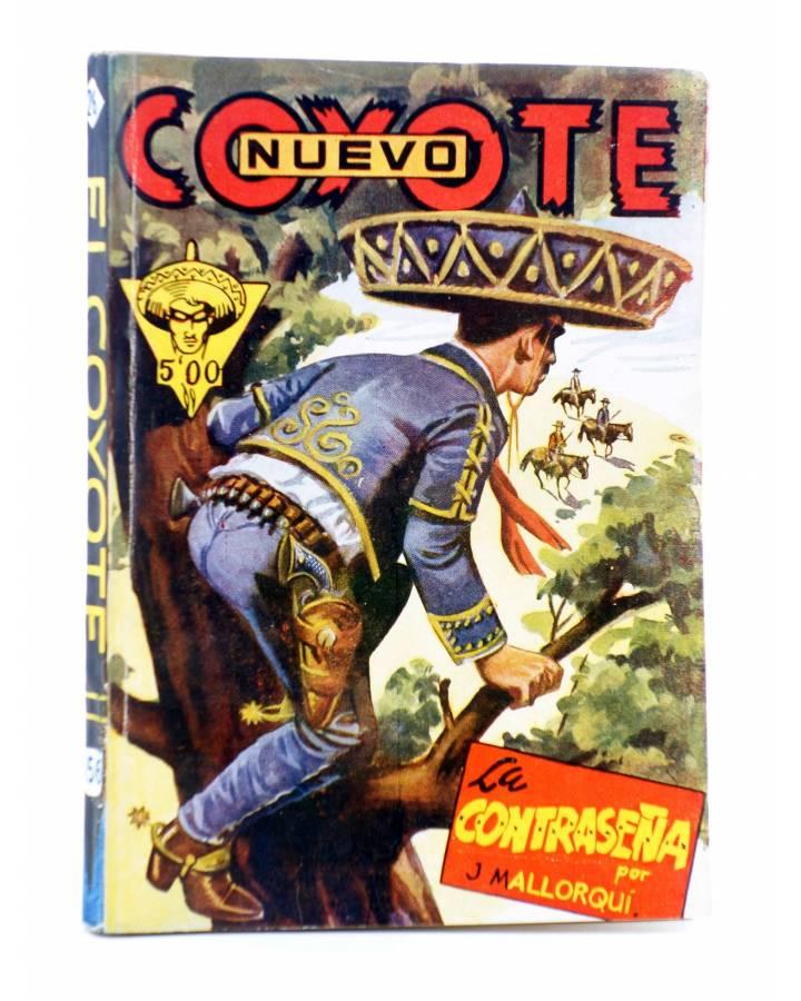 Cubierta de EL COYOTE 156. NUEVO COYOTE 26: LA CONTRASEÑA (José Mallorquí) Cliper 1951