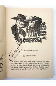 Muestra 1 de EL COYOTE 156. NUEVO COYOTE 26: LA CONTRASEÑA (José Mallorquí) Cliper 1951