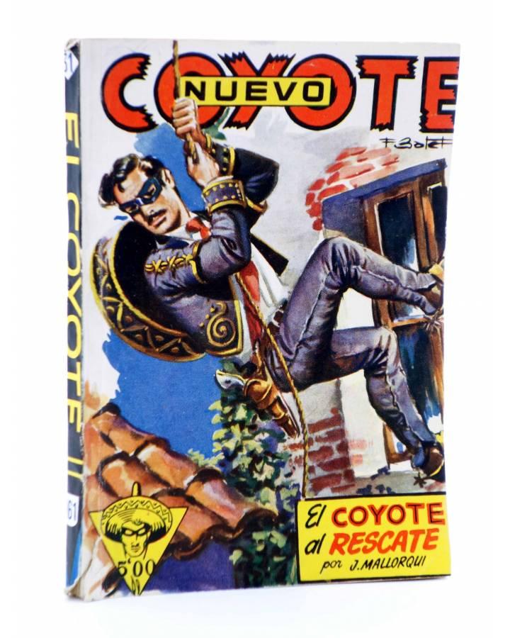 Cubierta de EL COYOTE 161. NUEVO COYOTE 31: EL COYOTE AL RESCATE (José Mallorquí) Cliper 1951