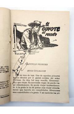 Muestra 1 de EL COYOTE 161. NUEVO COYOTE 31: EL COYOTE AL RESCATE (José Mallorquí) Cliper 1951
