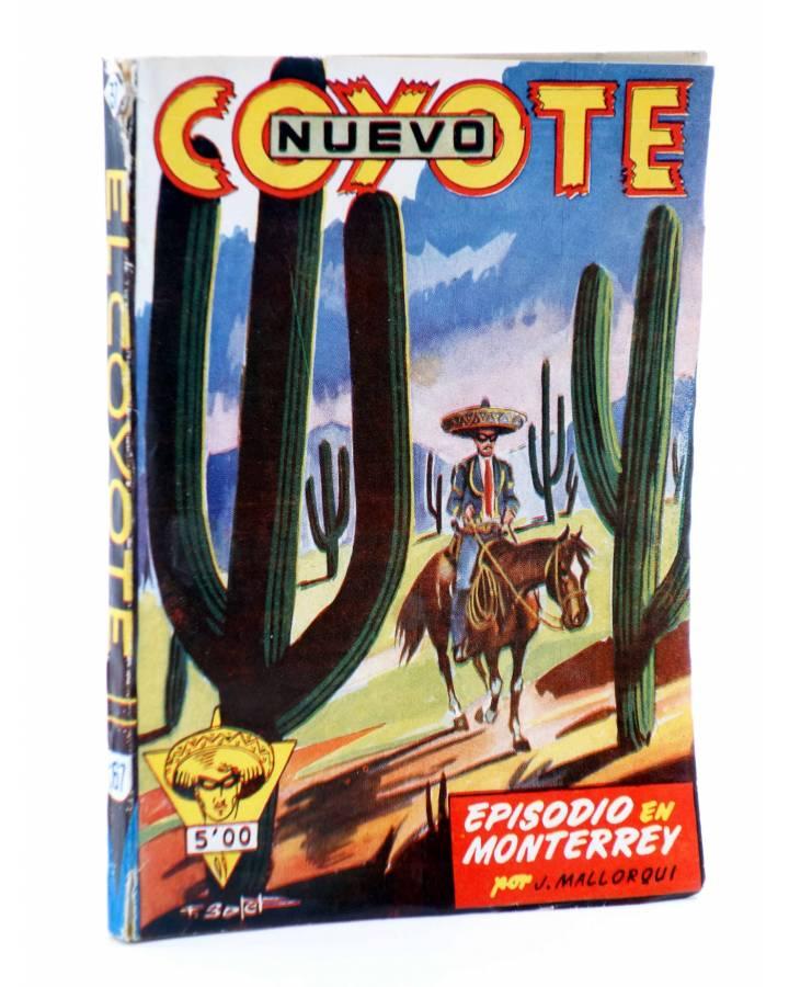 Cubierta de EL COYOTE 167. NUEVO COYOTE 37: EPISODIO EN MONTERREY (José Mallorquí) Cliper 1951