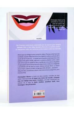 Contracubierta de MUÉRDEME (Christopher Moore) La Factoría de Ideas 2011