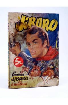 Cubierta de JIBARO 1. CAPITÁN JIBARO (José Mallorquí) Cliper 1951