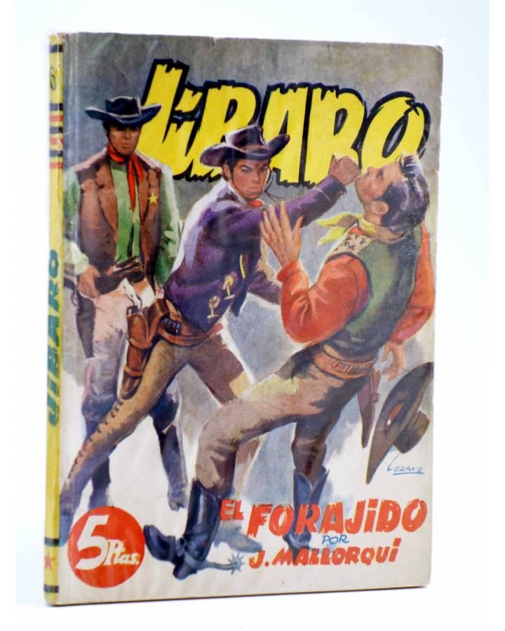 Cubierta de JIBARO 6. EL FORAJIDO (José Mallorquí) Cliper 1951