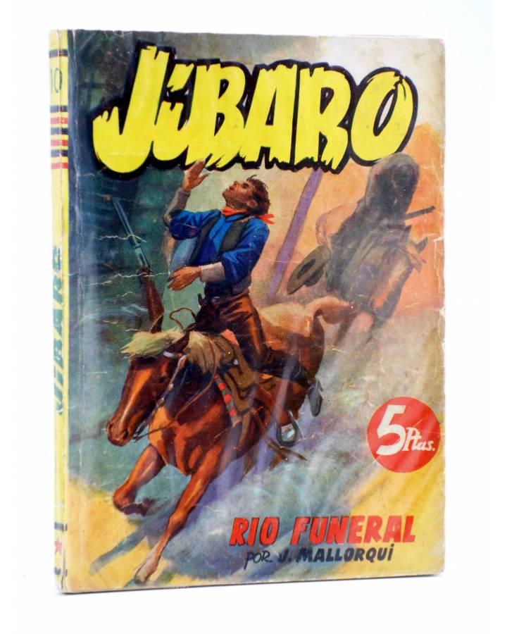 Cubierta de JIBARO 10. RÍO FUNERAL (José Mallorquí) Cliper 1951