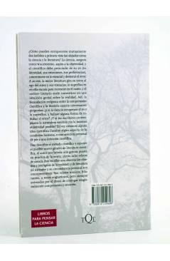 Contracubierta de METATEMAS 107. YO LO SUPERFLUO Y EL ERROR (Jorge Wagensberg) Tusquets 2009