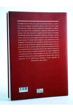 Contracubierta de LA ESTAFETA LITERARIA Y SU CONTRIBUCIÓN A LA DIFUSIÓN DE LA CULTURA DEL SIGLO XX (Vvaa) Sílex 2010
