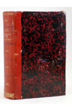 Cubierta de DICCIONARIO DE GALICISMOS (Rafael María Baralt) Sucesores de Rivadeneyra 1890