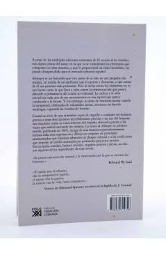 Contracubierta de LA LOCURA DE ALMAYER (Joseph Conrad) Siglo XXI 2010