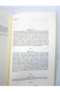 Muestra 2 de CHRISTIANNE Y GOETHE. HISTORIA DE UNA RELACIÓN (Sigrid Damn) Siglo XXI 2000