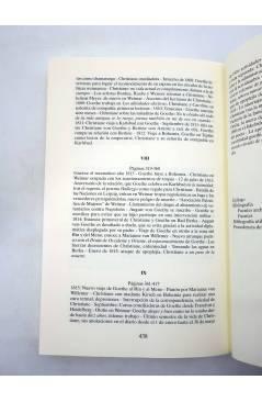 Muestra 5 de CHRISTIANNE Y GOETHE. HISTORIA DE UNA RELACIÓN (Sigrid Damn) Siglo XXI 2000