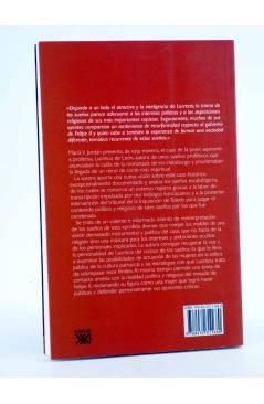 Contracubierta de SOÑAR LA HISTORIA. RIESGO CREATIVIDAD Y RELIGIÓN EN LAS PROFECÍAS DE LUCRECIA DE LEÓN (María V. Jordán
