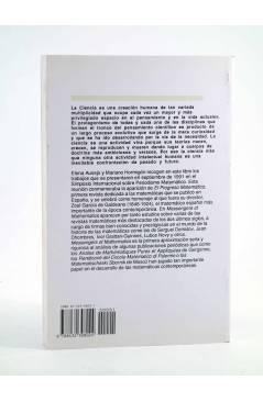 Contracubierta de MESSENGERS OF MATHEMATICS: EUROPEAN MATHEMATICAL JOURNALS 1800-1946 (Elena Ausejo / Mariano Hormigón)
