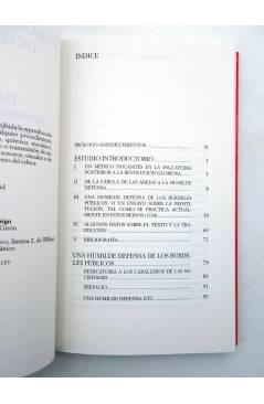 Muestra 2 de UNA HUMILDE DEFENSA DE LOS BURDELES PÚBLICOS (Bernard Mandeville) Siglo XXI 2008