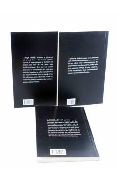 Contracubierta de SELECCIÓN PULP FICCIÓN 1 2 3 COMPLETA (Ralph Barby) 23 Escalones 2011