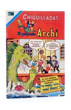 Cubierta de CHIQUILLADAS PRESENTA: EL PEQUEÑO ARCHI 480. Novaro 1976. Serie Águila