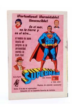 Contracubierta de CHIQUILLADAS PRESENTA: EL PEQUEÑO ARCHI 480. Novaro 1976. Serie Águila