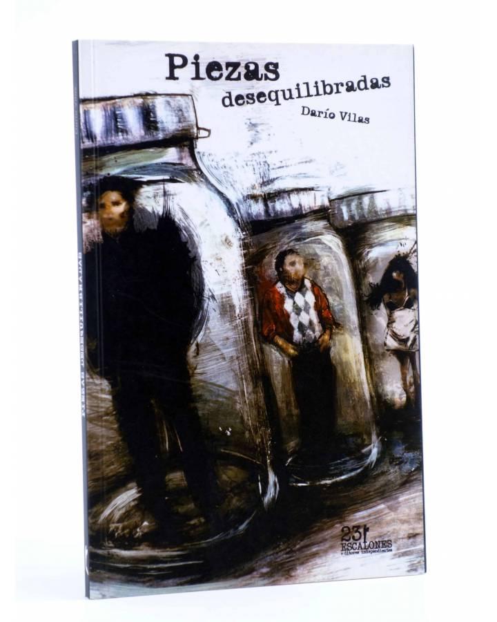 Cubierta de PIEZAS DESEQUILIBRADAS (Darío Villas) 23 Escalones 2011