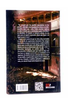 Contracubierta de APLAUDAN AL SALIR (Daniel P. Espinosa) 23 Escalones 2012