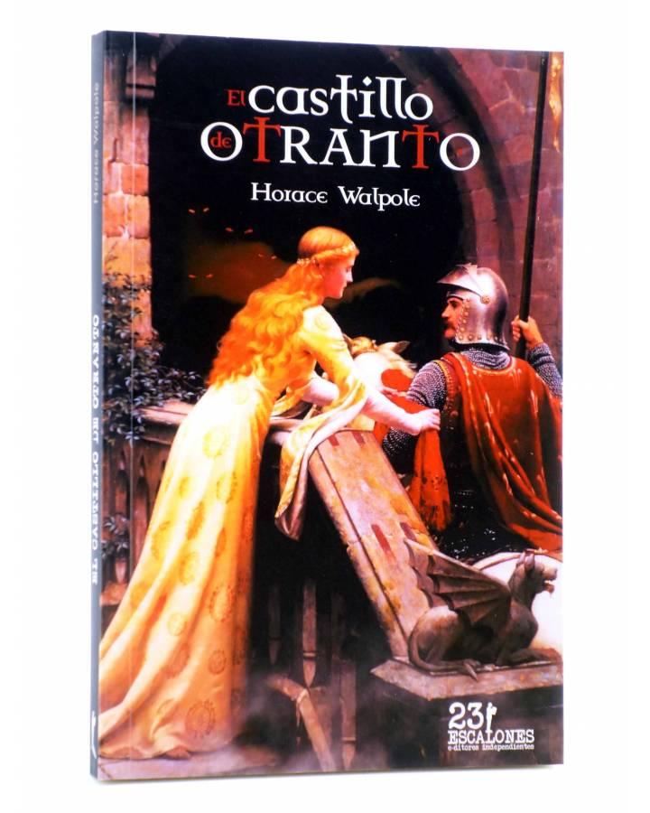 Cubierta de EL CASTILLO DE OTRANTO (Horace Walpole) 23 Escalones 2011