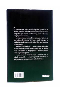 Contracubierta de LOS PIRATAS CIRCULARES (Rafael Estrada) 23 Escalones 2011