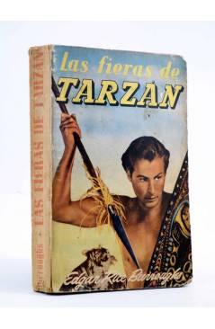 Cubierta de AVENTURAS DE TARZÁN 3. LAS FIERAS DE TARZÁN (Edgar Rice Burroughs) Gustavo Gili 1956. 7ª ed