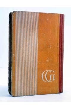 Contracubierta de AVENTURAS DE TARZÁN 4. EL HIJO DE TARZÁN (Edgar Rice Burroughs) Gustavo Gili 1947. 3ª ed