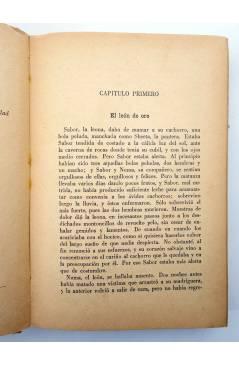 Muestra 2 de AVENTURAS DE TARZÁN 9. TARZÁN Y EL LEÓN DE ORO (Edgar Rice Burroughs) Gustavo Gili 1948. 2ª ed