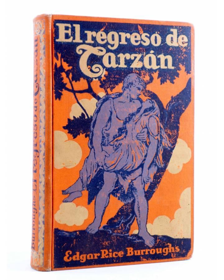 Cubierta de AVENTURAS DE TARZÁN 2. EL REGRESO DE TARZÁN (Edgar Rice Burroughs) Gustavo Gili 1926