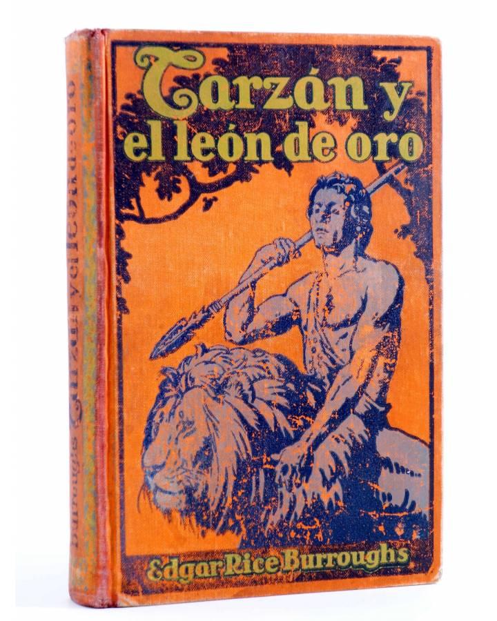 Cubierta de AVENTURAS DE TARZÁN 9. TARZÁN Y EL LEÓN DE ORO (Edgar Rice Burroughs) Gustavo Gili 1928