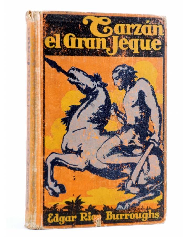 Cubierta de AVENTURAS DE TARZÁN 11. TARZÁN EL GRAN JEQUE (Edgar Rice Burroughs) Gustavo Gili 1929