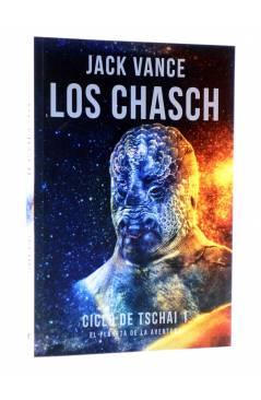 Cubierta de CICLO DE TSACHAI 1. LOS CHASCH (Jack Vance) Tyrannosaurus 2016