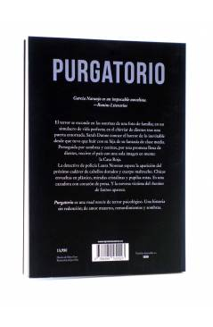 Contracubierta de PURGATORIO (Pablo García Naranjo) Tyrannosaurus 2016