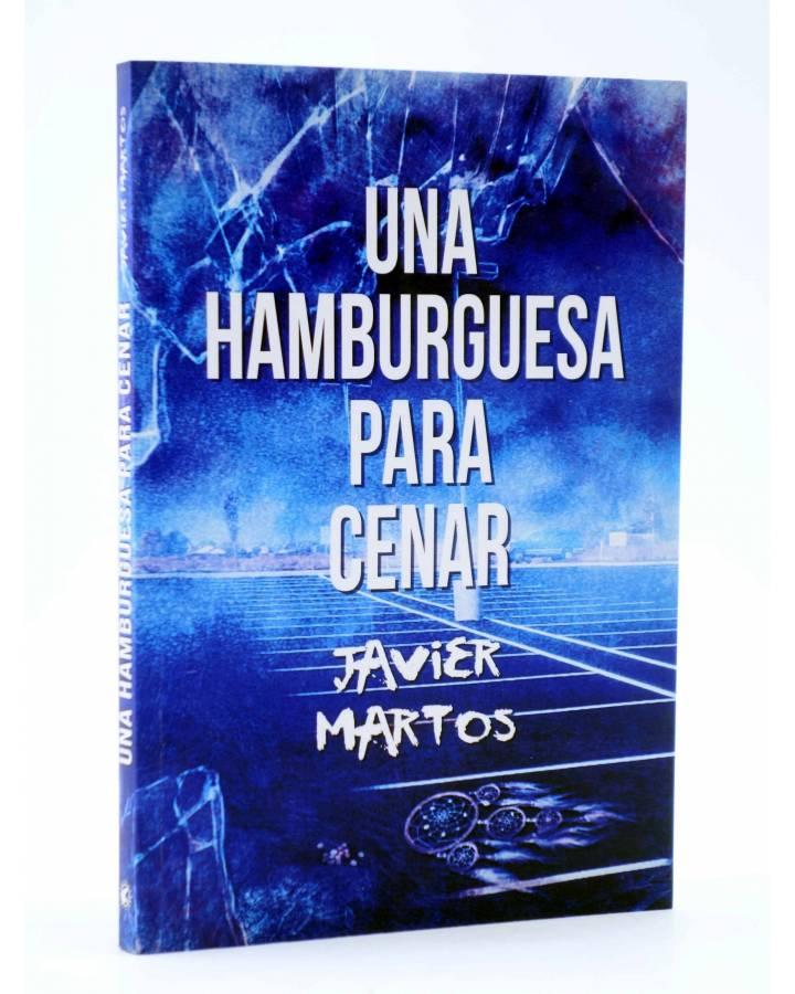 Cubierta de UNA HAMBURGUESA PARA CENAR (Javier Martos) Tyrannosaurus 2014