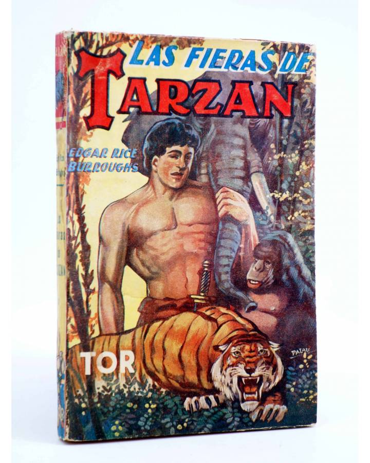 Cubierta de TARZÁN 3. LAS FIERAS DE TARZÁN (Edgar Rice Burroughs) Tor 1957