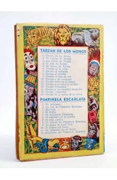 Contracubierta de TARZÁN 3. LAS FIERAS DE TARZÁN (Edgar Rice Burroughs) Tor 1957