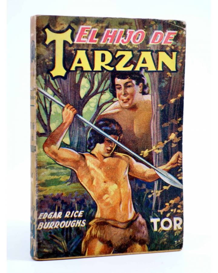 Cubierta de TARZÁN 4. EL HIJO DE TARZÁN (Edgar Rice Burroughs) Tor 1945