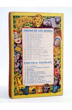 Contracubierta de TARZÁN 4. EL HIJO DE TARZÁN (Edgar Rice Burroughs) Tor 1945