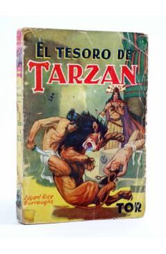 Cubierta de TARZÁN 5. EL TESORO DE TARZÁN (Edgar Rice Burroughs) Tor 1945