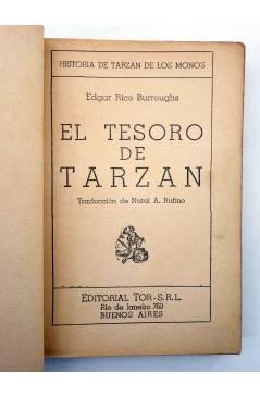Muestra 1 de TARZÁN 5. EL TESORO DE TARZÁN (Edgar Rice Burroughs) Tor 1945